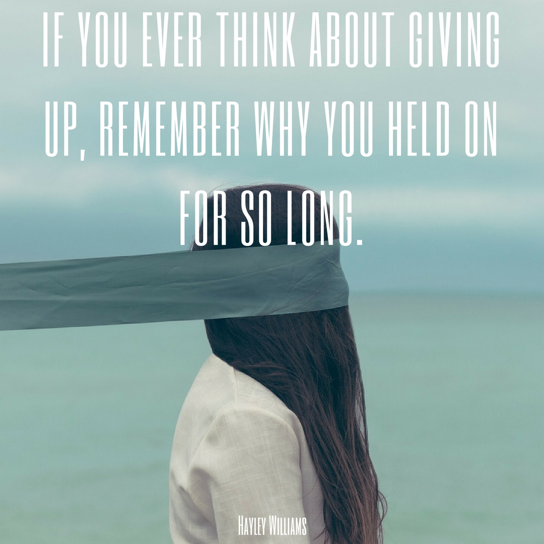 Long distance relationship quotes about giving up